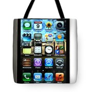 Iphone Tote Bag by Photo Researchers
