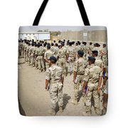 Iraqi Air Force College Cadets March Tote Bag by Stocktrek Images