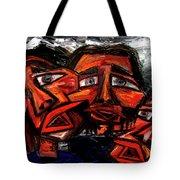 Is 3 Really A Crowd Tote Bag by Karen Elzinga