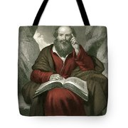 Isaiah, Old Testament Prophet Tote Bag by Photo Researchers
