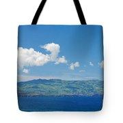 Island On The Horizon Tote Bag by Gaspar Avila