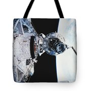 Iss Module Unity Tote Bag by Science Source