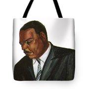 Issa Hayatou Tote Bag by Emmanuel Baliyanga