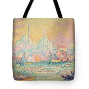 Istanbul Tote Bag by Paul Signac