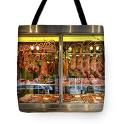 Italian Market Butcher Shop Tote Bag by John Greim