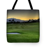 Jack Nicklaus Golf Course Tote Bag by Jay Hooker