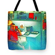 Jake From State Farm Tote Bag by Lenore Senior