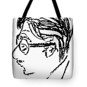 James Grover Thurber Tote Bag by Granger