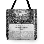 Jefferson: Degree, 1820 Tote Bag by Granger