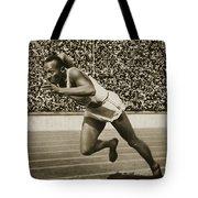 Jesse Owens Tote Bag by American School