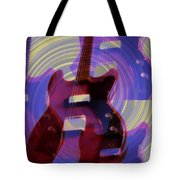 Jet Screamer - Guild Jet Star Tote Bag by Bill Cannon
