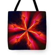 Kaliedoscope Flower 121011 Tote Bag by David Lane