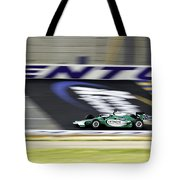 Kentucky Speedway Irl Tote Bag by Keith Allen