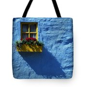 Kinsale, Co Cork, Ireland Cottage Window Tote Bag by The Irish Image Collection