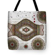kissing fish from wishful Sea to the warm reef Tote Bag by Pepita Selles