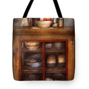 Kitchen - The Cooling Cabinet Tote Bag by Mike Savad