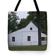 Kitchen And Slave Quarters Appomattox Virginia Tote Bag by Teresa Mucha
