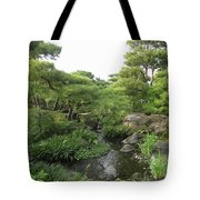 Kokoen Samurai Gardens - Himeji City Japan Tote Bag by Daniel Hagerman