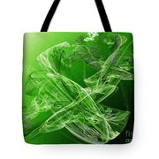 Krypton Lace Tote Bag by Andee Design