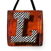 L Tote Bag by Mauro Celotti