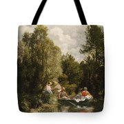 La Mare Aux Fees Tote Bag by Pierre Auguste Renoir
