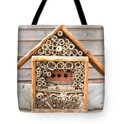 Lacewig House Tote Bag by Tom Gowanlock