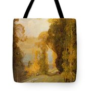 Lake Bourget From Mont Revard  Tote Bag by Sir Alfred East