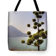 Lake Lugano - Monte Salvatore Tote Bag by Joana Kruse