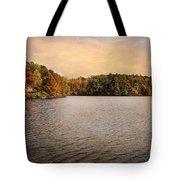Lakeside Morning Tote Bag by Jai Johnson