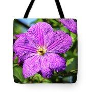 Last Summer Bloom Tote Bag by Mariola Bitner