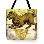 Leo, The Hevelius Firmamentum, 1690 Tote Bag by Science Source