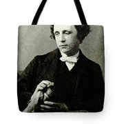 Lewis Carroll, English Author Tote Bag by Photo Researchers