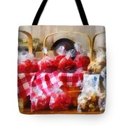 Licorice And Chocolate Covered Peanuts Tote Bag by Susan Savad