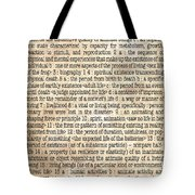 Life Tote Bag by Monday Beam