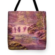 Light And Color Tote Bag by Michael Mrozik