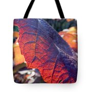 Light Of The Lifeblood Tote Bag by Trish Hale