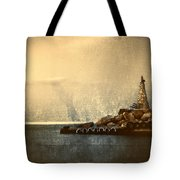 Lighthouse Tote Bag by Stelios Kleanthous