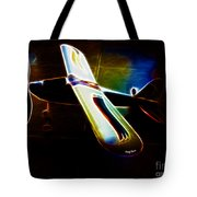 Lil Plane Tote Bag by Cheryl Young