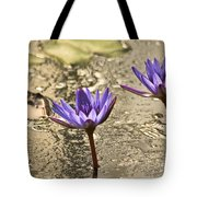 Lily Twins Tote Bag by Carolyn Marshall