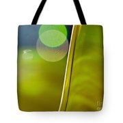 Lime Abstract Two Tote Bag by Dana Kern