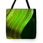 Lime Curl Tote Bag by Dana Kern