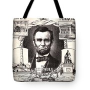 Lincoln Centennial, C1909 Tote Bag by Granger
