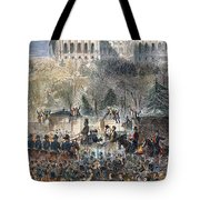 Lincoln Inauguration Tote Bag by Granger