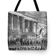 Lincolns Inauguration, 1861 Tote Bag by Granger