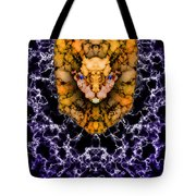 Lion's Roar Tote Bag by Christopher Gaston
