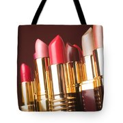 Lipstick Tubes Tote Bag by Garry Gay