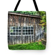 Little Brown Shed Tote Bag by Debbi Granruth
