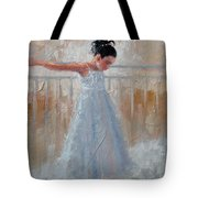 Little Lady Tote Bag by Laura Lee Zanghetti