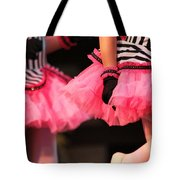 Little Pink Tutus Tote Bag by Lauri Novak