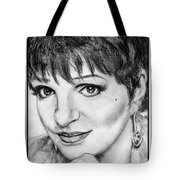 Liza Minnelli In 2006 Tote Bag by J McCombie